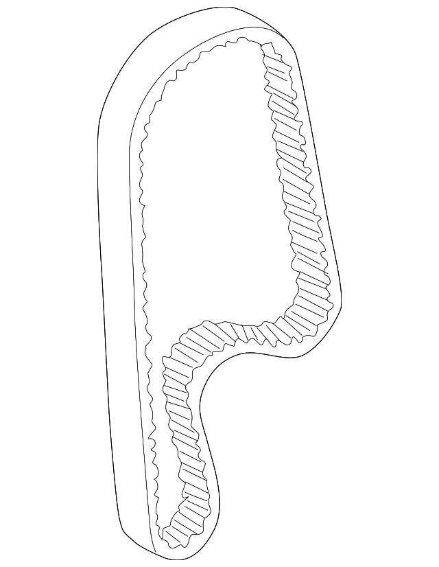 Belt, Timing (112RU24 A-555) - Honda (14400-PAA-A02)