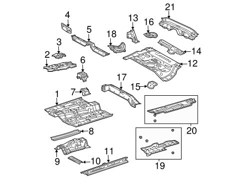 Foot Rest - Toyota (58192-13010)