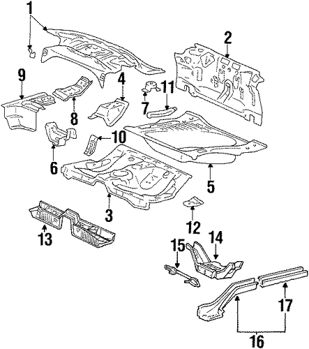 Package Tray - Toyota (64101-20470)