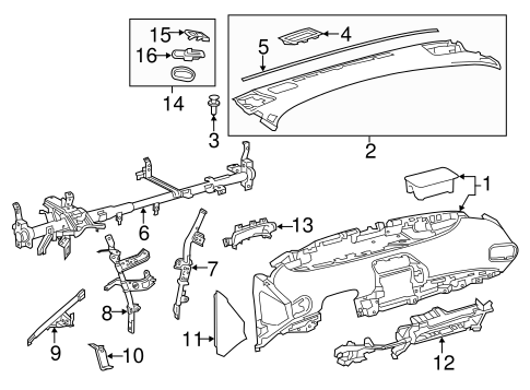 Side Panel - Toyota (55436-47050-C0)