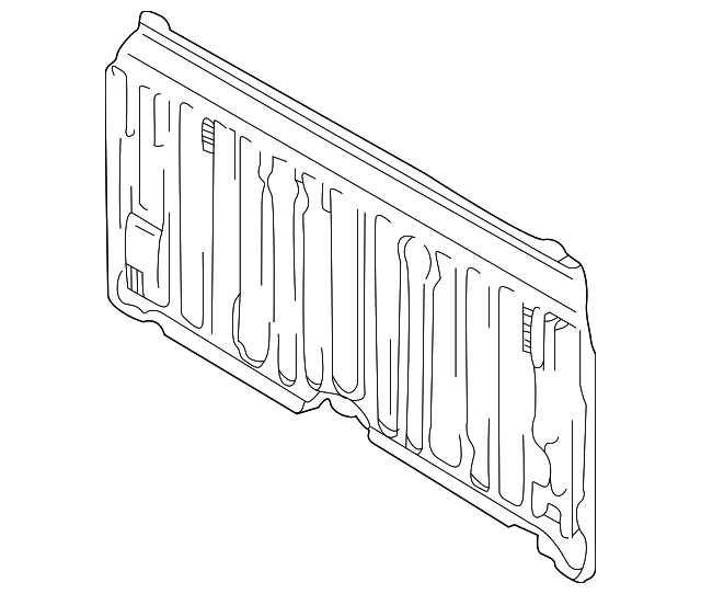 Back Panel - Toyota (64111-0C013)