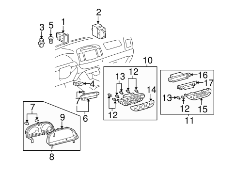 HVAC/CONTROLS for 2003 Toyota Camry #2