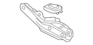 ARM B, L. RR. (LOWER) - 2010 Honda RIDGELINE (52360SJCA01)