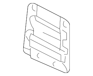 Mount Plate - Toyota (65415-04010)
