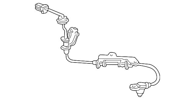 OEM Honda 57470-S2A-003 - Rear Speed Sensor