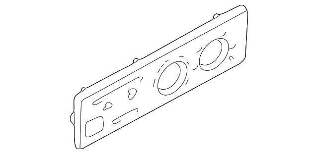 Face Plate - Toyota (55519-35141)