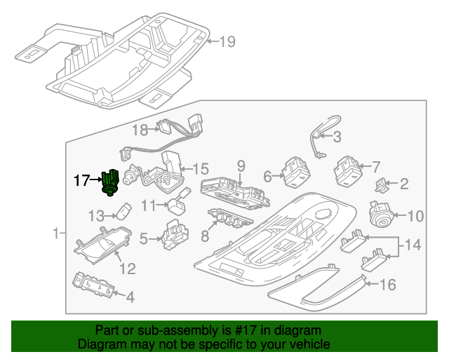 Led Unit - GM (20864462)