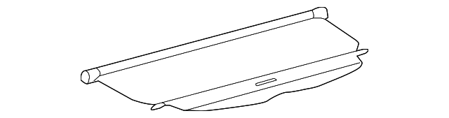 Cargo Cover - Toyota (64910-0T011-B0)