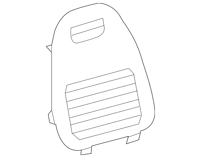 Jack Cover - Toyota (64766-0R030-C0)