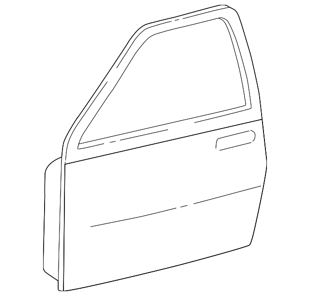 Door Shell - Toyota (67002-0C080)