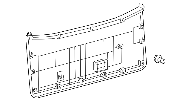 Lower Trim - Toyota (67750-0C021-E0)