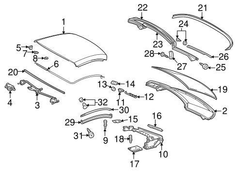 Top components for 1999 mercedes benz slk230 for Mercedes benz slk230 parts