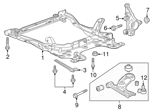 Ball Joint - GM (95907943)