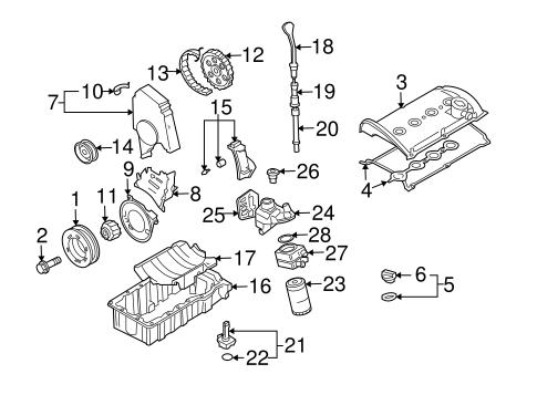 oem vw engine parts for 2003 volkswagen jetta