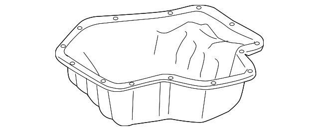 Oil Pan - Toyota (12101-0H050)