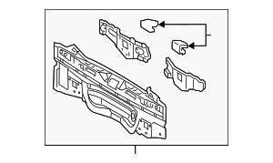 Rear Body Panel - Toyota (58307-47080)