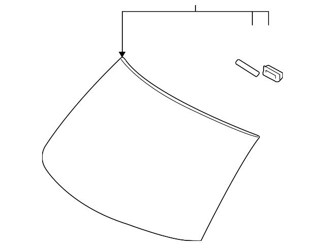 Windshield - Toyota (56101-12490)