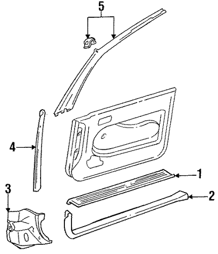 Sill Plate - Toyota (67911-AA010)