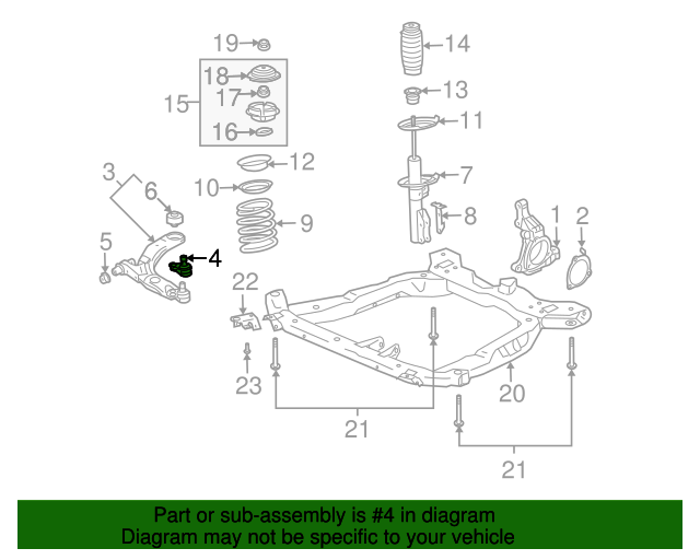Ball Joint - GM (15856323)