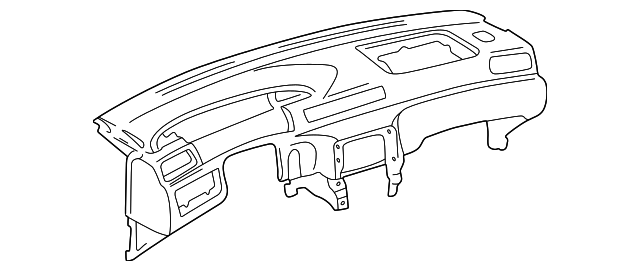 Instrument Panel - Toyota (55401-33050-E0)