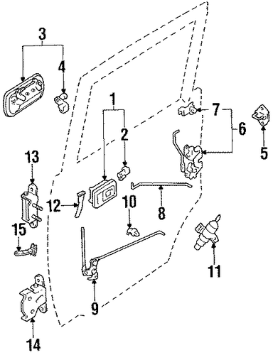 6912035050 further P 0900c1528004db3b as well Acura Headlight Wiring Diagram further 2000 Honda Accord Lock Schematics in addition 2005 Toyota Sienna Sliding Door Diagram. on toyota 4runner door latch