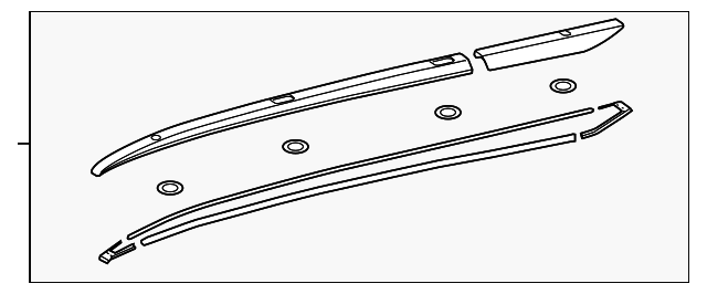 Side Rail - Toyota (63470-0E121)