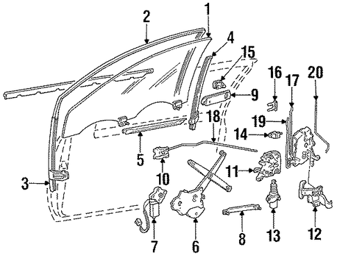 Ford Window Regulator F4sz6323209a additionally 232174523655 additionally Ford Five Hundred Parts Diagram Seat further 161059254932 in addition 2004 Chevy Express Serpentine Belt Diagrams. on new ford powerstroke