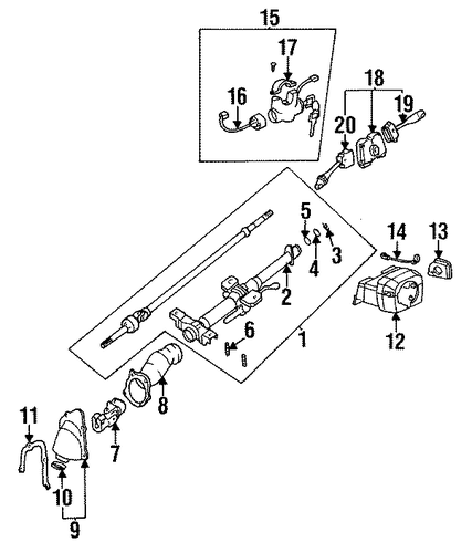 steering lock for 1997 nissan maxima