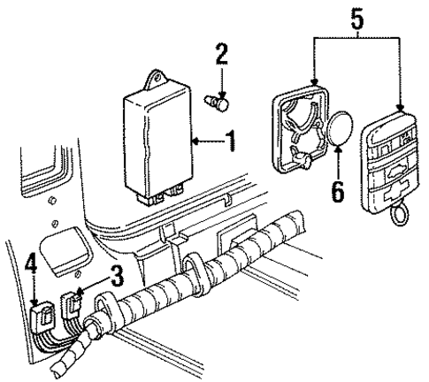 10030645 additionally Buick Riviera Connector 1995 1999 in addition 1997 Honda Accord Window Cable Diagram further Pontiac Firebird 1986 Pontiac Firebird Cooling Fan moreover Ls1 Engine Diagram. on 1995 firebird trans am