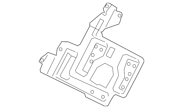2009 Honda CIVIC SEDAN DX (VP) BRACKET, L. - (39105SNAA01)