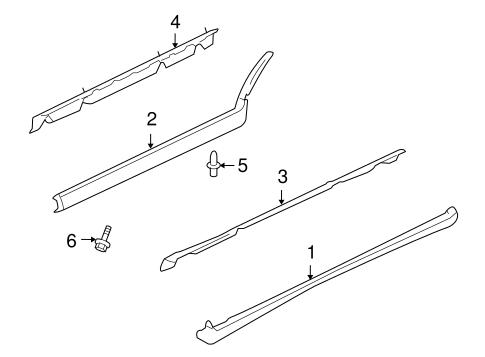 Exterior Trim Pillars Scat