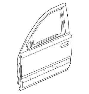 OEM Honda 67050-S10-A90ZZ - Door Shell