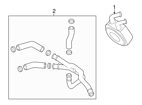 2001 mazda tribute v6 engine parts diagram 05 escape