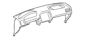 Instrument Panel - Toyota (55300-02010-E0)
