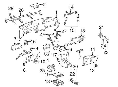 Center Bracket - Toyota (55308-02020)