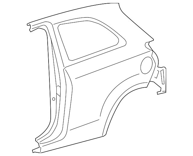 Quarter Panel - Toyota (61602-52650)