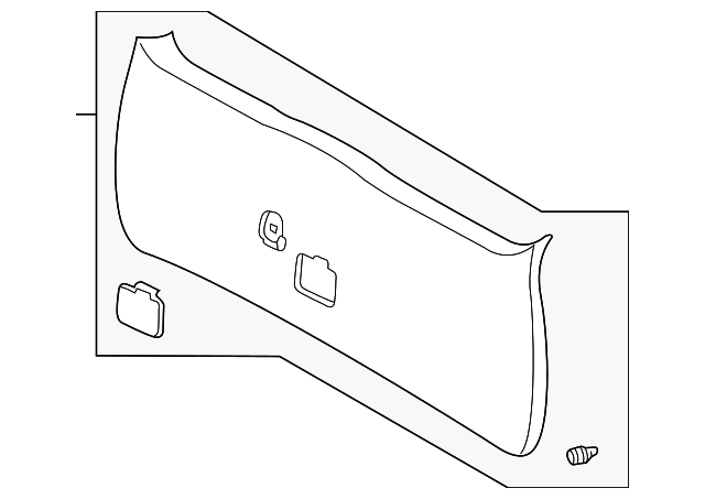 Lift Gate Trim - Toyota (67750-AE010-E0)