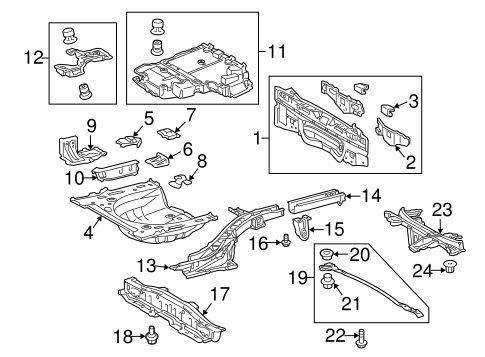 Rail Assembly - Toyota (57602-12A01)