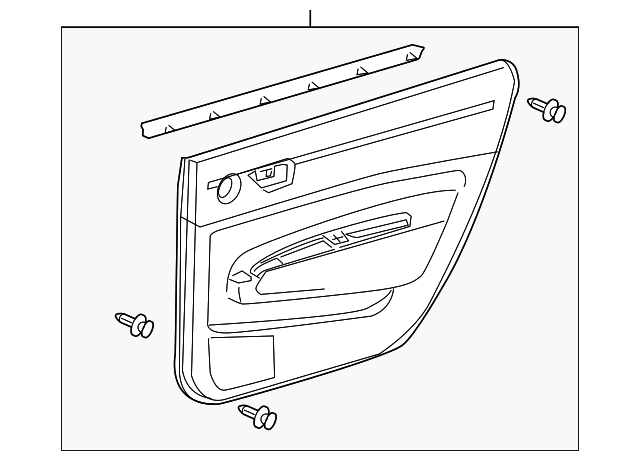 Door Trim Panel - Toyota (67630-47081-E0)