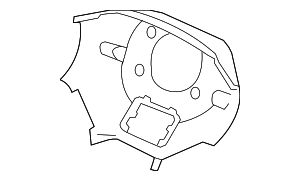 OEM Honda 78518-SJC-A61ZB - Lower Cover