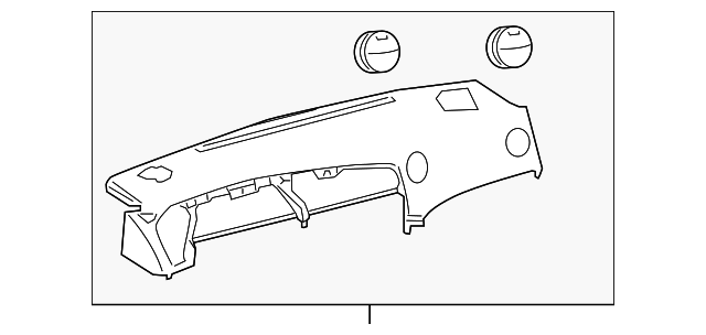 Instrument Panel - Toyota (55302-02250-B0)