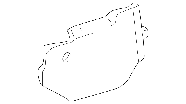 Side Cover - Toyota (58534-42011-B1)