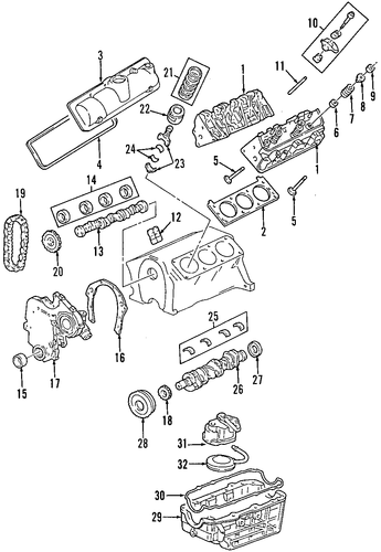 mounts for 2008 saturn vue