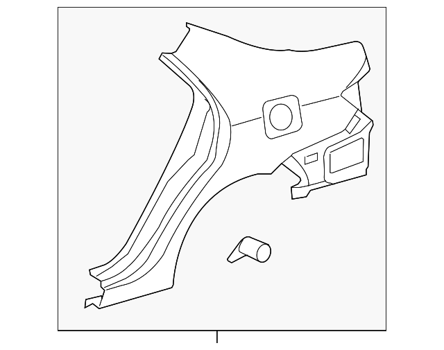 Quarter Panel - Toyota (61601-12A10)