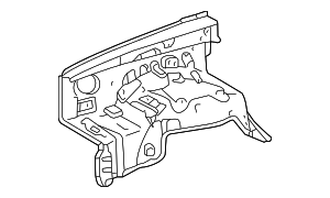 Apron Assembly - Toyota (53701-04121)