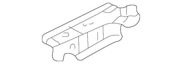 OEM Honda 04612-S2A-300ZZ - Side Rail