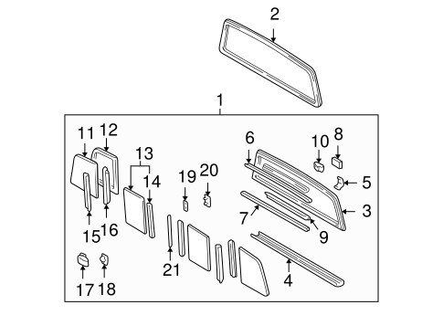Channel Packing - Toyota (64839-04010)