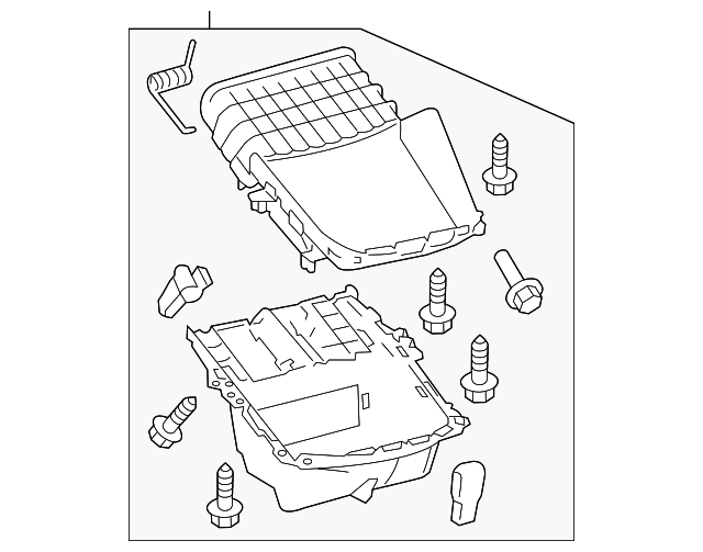 Compartment - Toyota (58804-07130-C0)