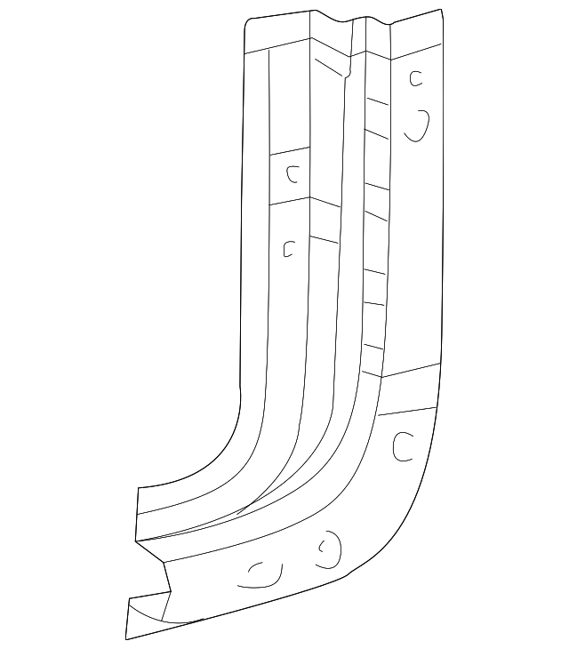 Reinforcement - Toyota (61527-34010)