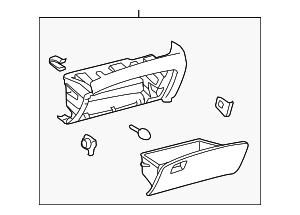 Glove Box Assembly - Toyota (55303-0T021-A0)